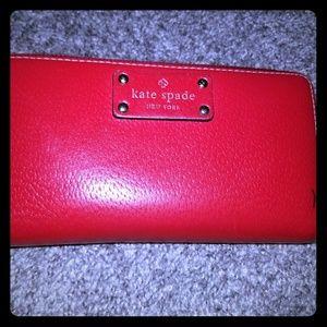 Used Kate Spade wallet